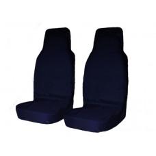 Комплект грязезащитных чехлов на передние сиденья (синий)