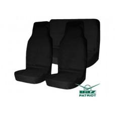 Комплект грязезащитных чехлов на передние и заднее (раздельный) сиденья для УАЗ ПАТРИОТ