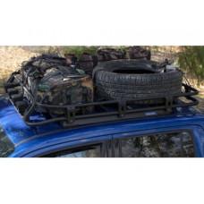 Экспедиционный багажник Rival для Volkswagen Amarok (V-2.0 TDI) 2010-2016/(V-2.0 TDI, 3.0 TDI) 2016-, алюминий  (черный)
