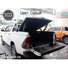 TOPUP крышка кузова Sport Lid Toyota Hilux REVO 2015+ цв. серый (1G3)