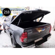 TOPUP крышка кузова Classic Toyota Hilux REVO 2015+ цв. черный (218)