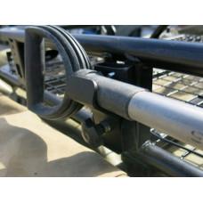 Крепление лопаты Rival на экспедиционный багажник для UAZ Patriot 2008-