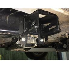 Крепеж Rival к силовым порогам для Toyota Hilux Revo 2015-, сталь