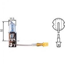 H3 Лампа Hella 12V 55W (PK22s), Вес: 10 грамм