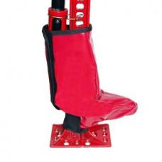 Защитный чехол на механизм домкрата типа Hi-Lift (ПВХ, красный, липучка), Tplus