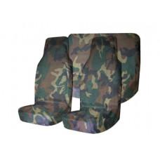 Комплект грязезащитных чехлов на передние и заднее сиденья (нато)