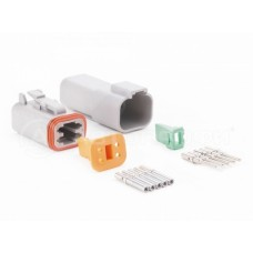Коннекторы на четыре контакта AM 4PK