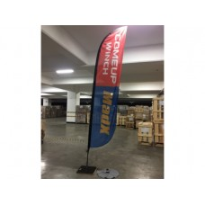 Флаг - стойка COMEUP MadX. Размер: 74,5 х 314 см