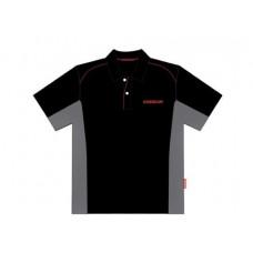 Рубашка-поло фирменная COMEUP, Размер - L,  материал - синтетика (сетка)