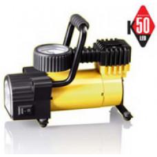 Автомобильный портативный компрессор КАЧОК К50 Led (12V)