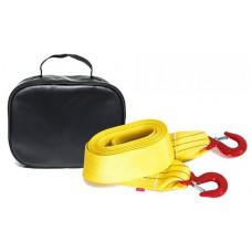Буксировочный ремень Tplus 8/13т 5м (авто до 4.5 т) Крюк/Крюк + сумка