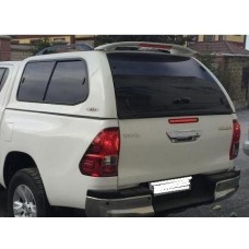 SJS кунг Toyota Hilux REVO 2015 сдвижные боковые окна (белый 040)