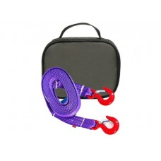 Буксировочный ремень 4/6 т 4.5 м Крюк/Крюк + сумка